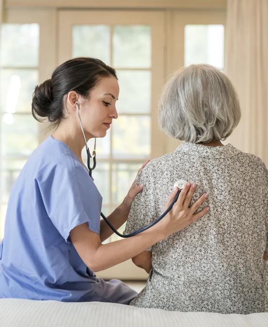 Asistente de salud en el hogar