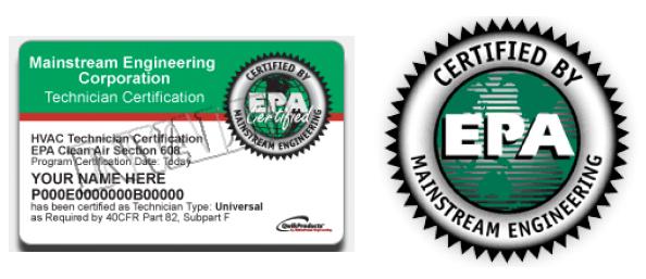 EPA Universal Credential