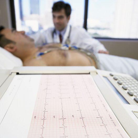 Electrocardiogram w NAHT
